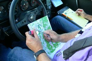 Kaartlees- en navigatiecursus voor deelnemers