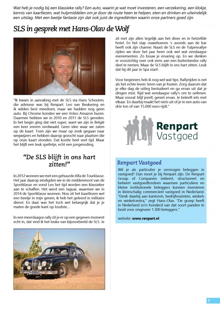 Programma overzicht 2015